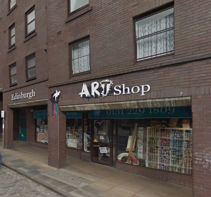 Art Shop edinburgh art shop | edinburgh art and craft supplies | scotland